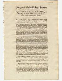 Act for Granting Lands in the Territory Northwest of the Ohio