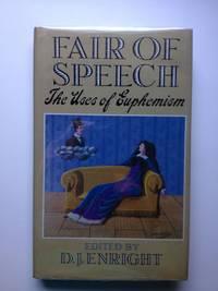 Fair of Speech. The Uses of Euphemism