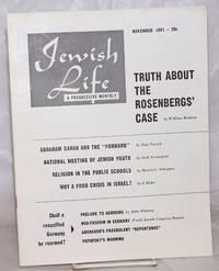 image of Jewish Life [1951, Nov, Vol. 6, No. 1 (60)]