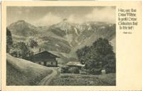 Herr, wie sind deine Werke so groß, Germany Landscape, 1953 used Postcard