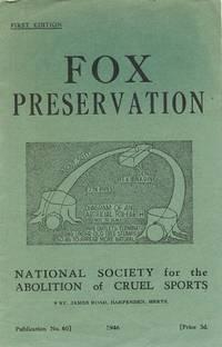 Fox Preservation