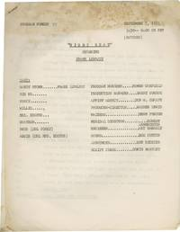 image of Night Beat [Nightbeat] (Original script for the 1951 radio program)