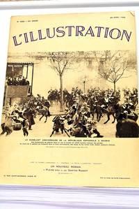 ILLUSTRATION (L') N°4860. 94e année. 25 avril 1936. Le Sanglant Anniversaire de la...