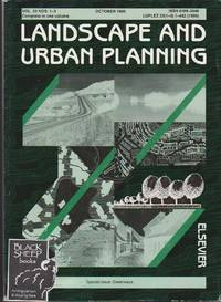 Landscape and Urban Planning, Vol. 33 NOS. 1-3, October 1995