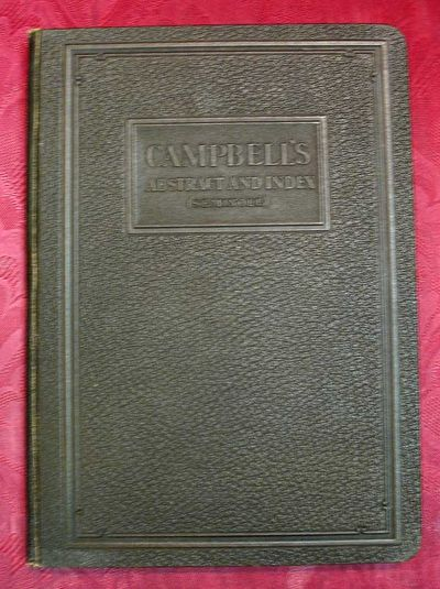 Muskogee: Oklahoma Printing Company, 1925. 1st edition. Brown pebbled faux-leather binding, front bo...