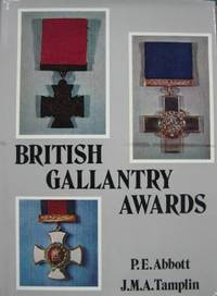 British Gallantry Awards.