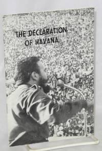 The declaration of Havana