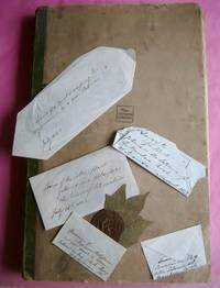 ORIGINAL 19TH CENTURY HERBARIUM ALBUM CONTAINING NUMEROUS PRESSED AND LABELLED BOTANICAL SPECIMENS FROM MAINLY NORFOLK