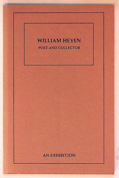 : University of Rochester Library, 1982. Hardcover. Near Fine. Hardcover. First edition. Number 196 ...