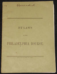 image of By-Laws of the Philadelphia Bourse