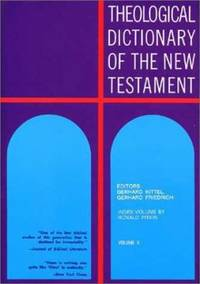 Theological Dictionary of the New Tesatment : Index