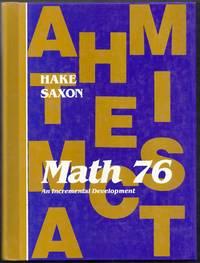 Math 76. An incremental Development