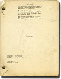 image of Botany Bay (Original screenplay for the 1953 film)
