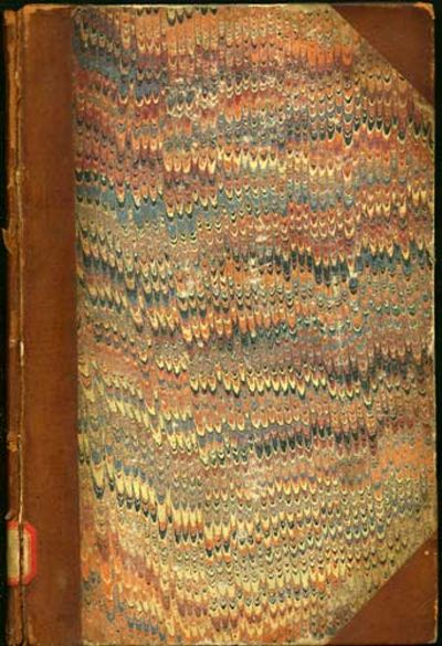 Washington : U.S. Government Printing Office, 1866. First edition. Three quarter calf over marbled b...