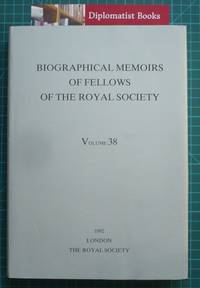 image of Biographical Memoirs of Fellows of the Royal Society: 1992, Volume 38