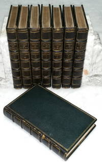 The Works of Robert Burns; with His Life [Allan Cunningham] (Eight Volumes)