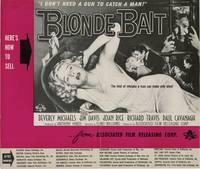 image of Blonde Bait (Original pressbook for the 1956 film)