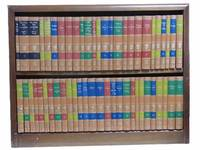 54-Volume Great Books of the Western World Set [with] Publisher's Custom Bookcase
