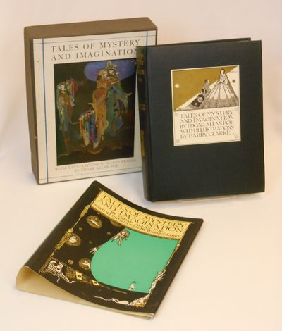 New York: Tudor Publishing Co, 1933. First Edition. Hardcover. Fine/near fine. Clarke, Harry. First ...