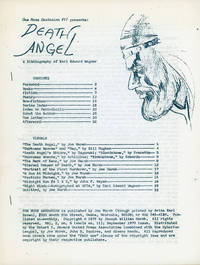 ONE MORE BARBARIAN #11 PRESENTS DEATH ANGEL, A BIBLIOGRAPHY OF KARL EDWARD WAGNER ... [caption...