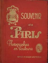 Souvenirs de Paris.