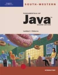 Fundamentals of Java: Introductory