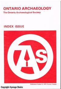 Ontario Archeology 31/1979 Index Issue