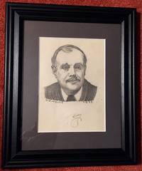 Portrait Pencil Sketch of H.G. Wells