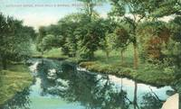 Neponset River, from Paul's Bridge, Readville, Mass early 1900s unused Postcard