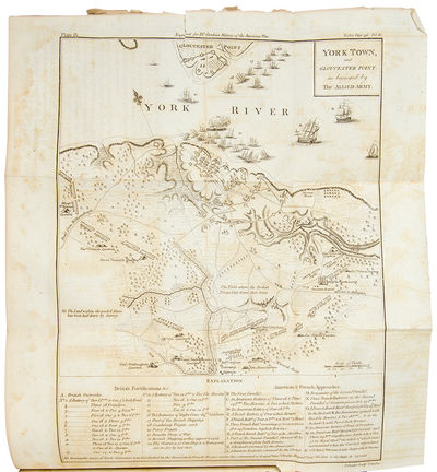London: Printed for the Author, 1788. 4 volumes, 8vo. (8 x 4 7/8 inches). 9 engraved folding maps an...