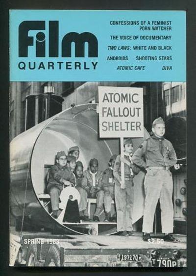 Berkeley: University of California Press. Near Fine. 1983. (Vol. XXXVI, No. 3). Magazine. . (B&W pho...