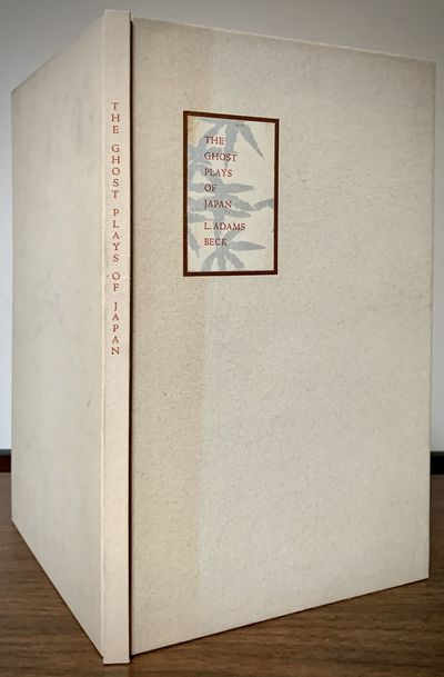 New York: Japan Society, 1933. First edition. Hardcover. Orig. white boards, front cover paper label...