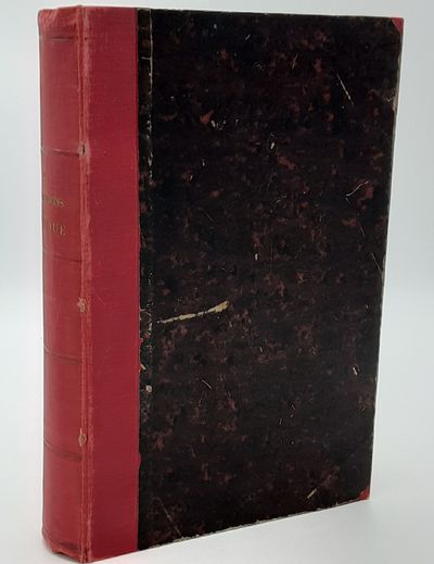 Paris.: Hachette., 1874 . Contemporary quarter red cloth over red marbled boards, gilt spine title, ...