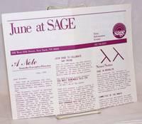 June at SAGE: news, information, events