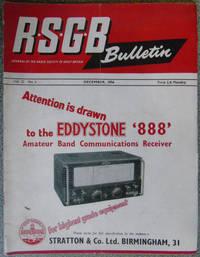 RSGB. Bulletin Volume 32 No.6 December 1956