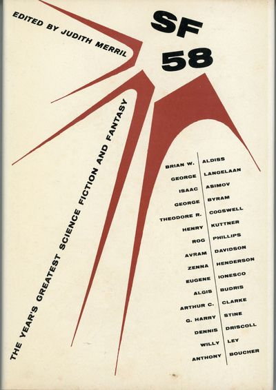 Hicksville, New York: Gnome Press, 1958. Octavo, red cloth with spine panel lettered in black. First...