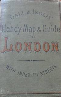 Handy Map & Guide to London with index to Streets (Cruchley's Handy Map of London)