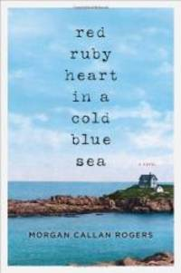 Red Ruby Heart in a Cold Blue Sea