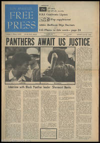 LOS ANGELES FREE PRESS; Panthers Await US Justice [Headline] by  Arthur (Ed.) Kunkin - 1969 - from Alta-Glamour Inc. (SKU: 85590)