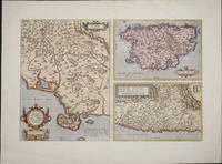 Senensis Ditionis Accurata Descrip. [with] Corsica [and] Marcha Anconae, olim Picenum 1572