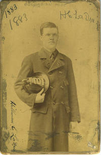 Signed albumen of Firefighter Hillman C. LaDue