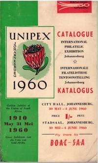 image of CATALOGUE / KATALOGUS, UNIPEX 1960