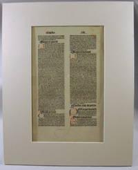 (Printed Leaf) Summa Universae Theologiae
