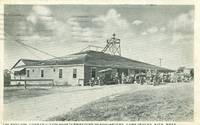 The Pavilion, Construction Quartermasters Headquarters Camp Devens, Ayer, Mass used Postcard