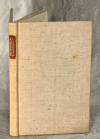 New York, NY: The Typophiles, 1938. First Edition. Hardcover. Very Good. LIMITED EDITION of 190 copi...