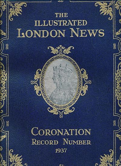 Illustrated Book Cover Number : The illustrated london news coronation record number