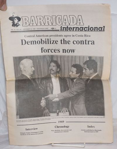 San Francisco: Barricada USA, 1989. One issue, 16pp., 8.5x11 inches, illust. throughout, wraps print...