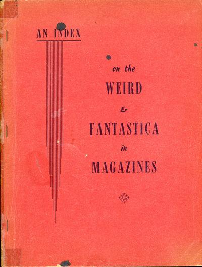 New York: Bradford M. Day, 1953. Large octavo, pp. 1-162 , offset from typewritten copy, printed wra...