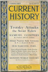 African Negroes Seek Autonomy [in] Current History. February, 1925