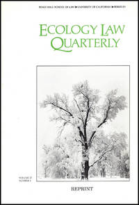 Land Use, Biodiversity, and Ecosystem Integrity: The Challenge of Preserving Earth's Life Support System (Reprint, Ecology Law Review, Vol 27, No. 4)